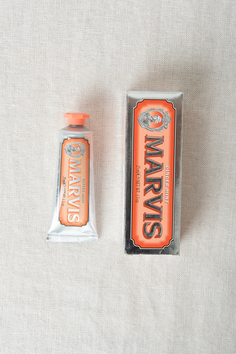 marvis toothpaste ginger mint