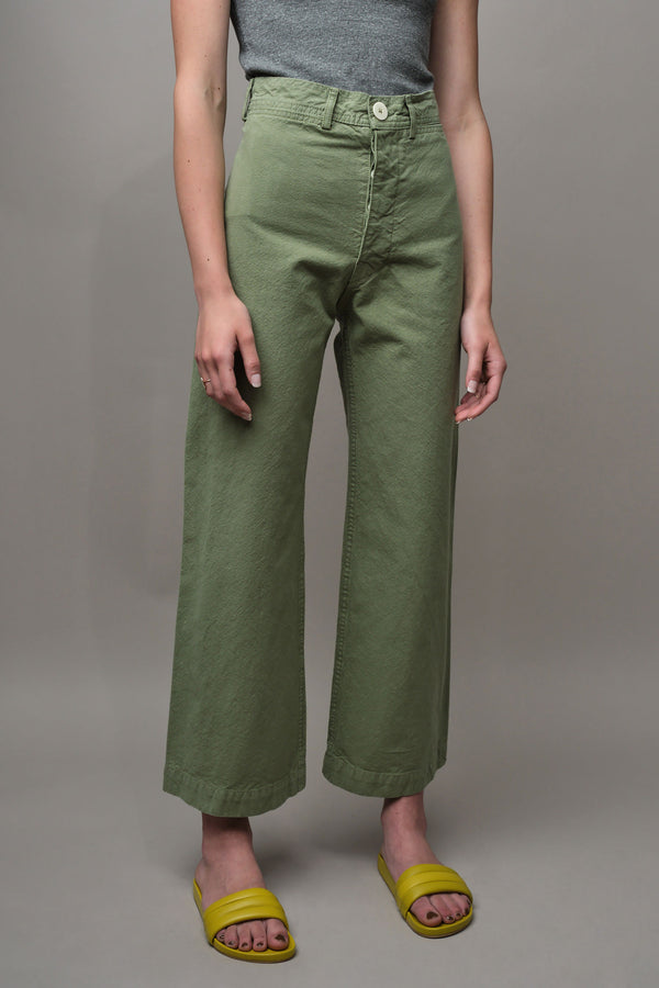 Jesse Kamm Sailor Pants in Shrub