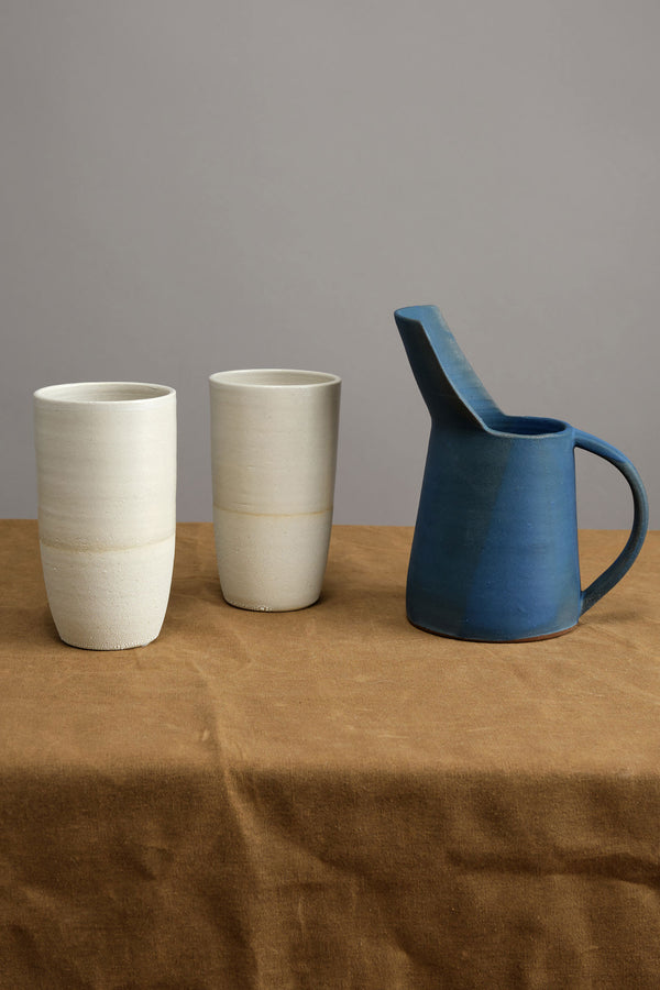 Kati Von Lehman Blue Water Pitcher
