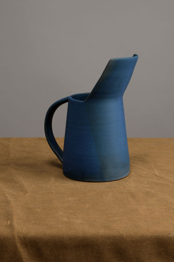 Blue Water Pitcher Kati Von Lehman