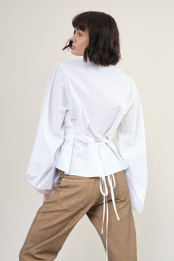 MM6 Maison Margiela poplin cotton shirt