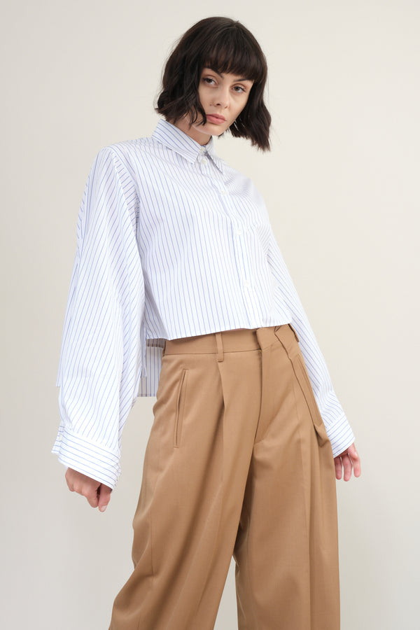 MM6 Maison Margiela Striped Poplin Shirt