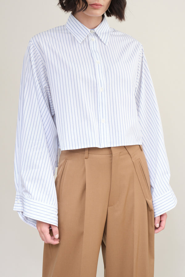 Striped Poplin shirt MM6 Maison Margiela