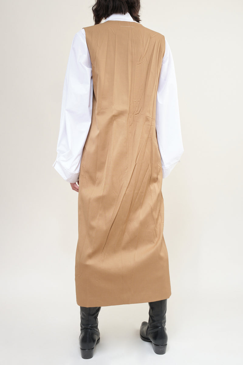 women's twill wool dress