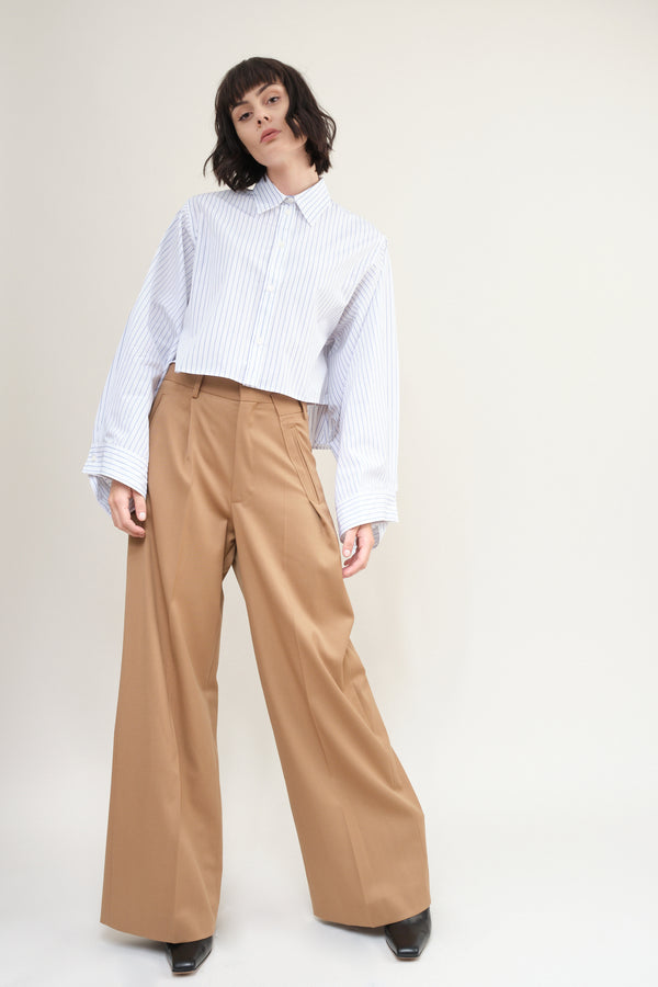 Twill Wool Trouser