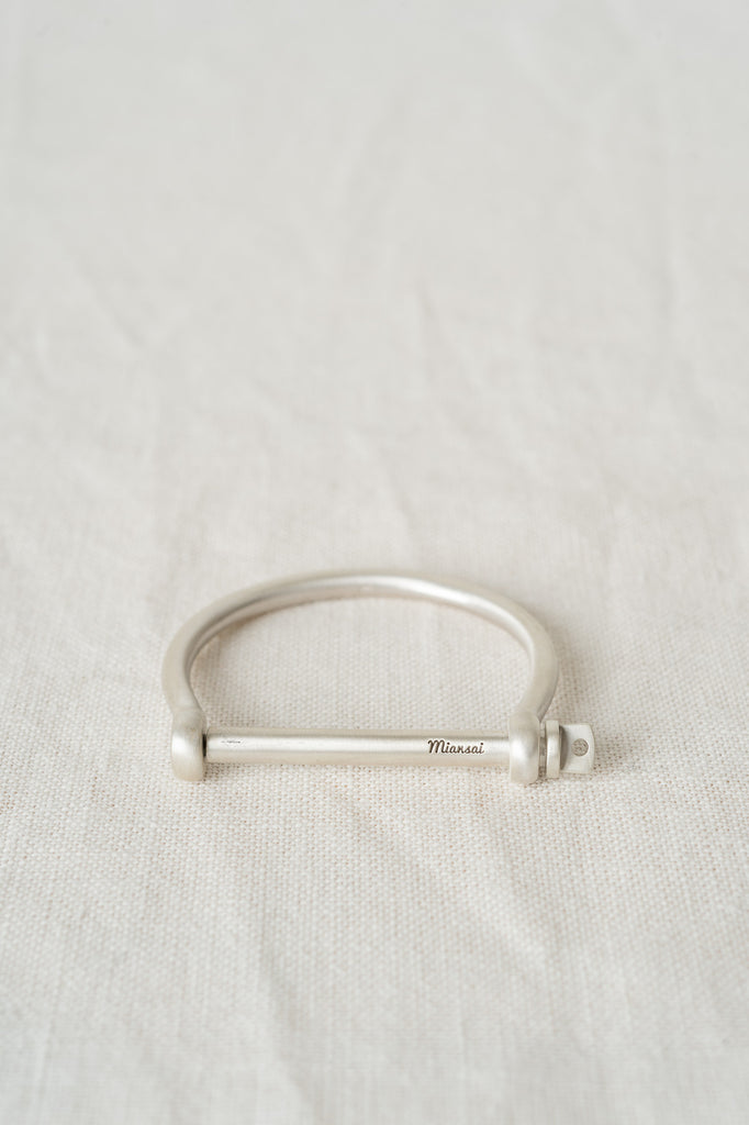 miansai screw cuff sterling silver