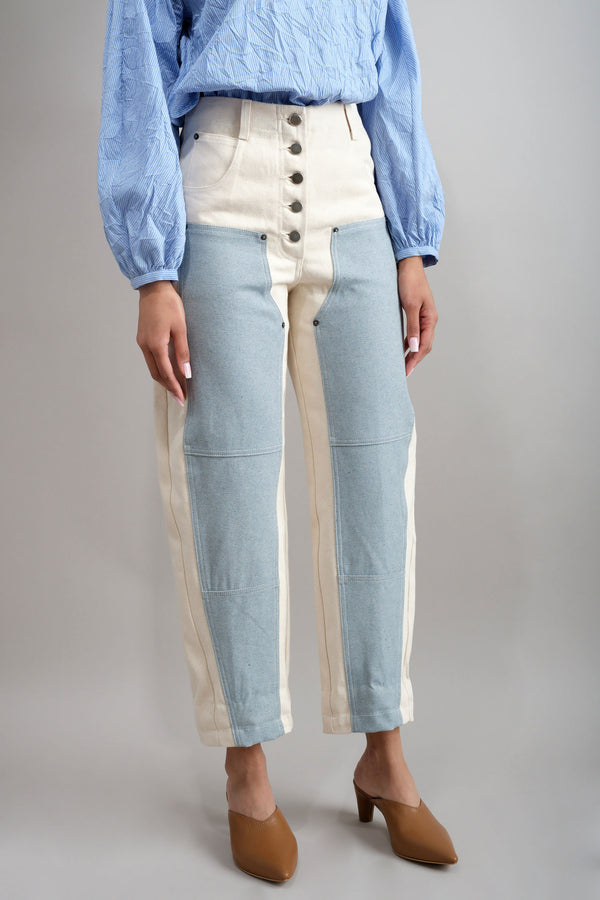 Handy Pant in Natural Rachel Comey
