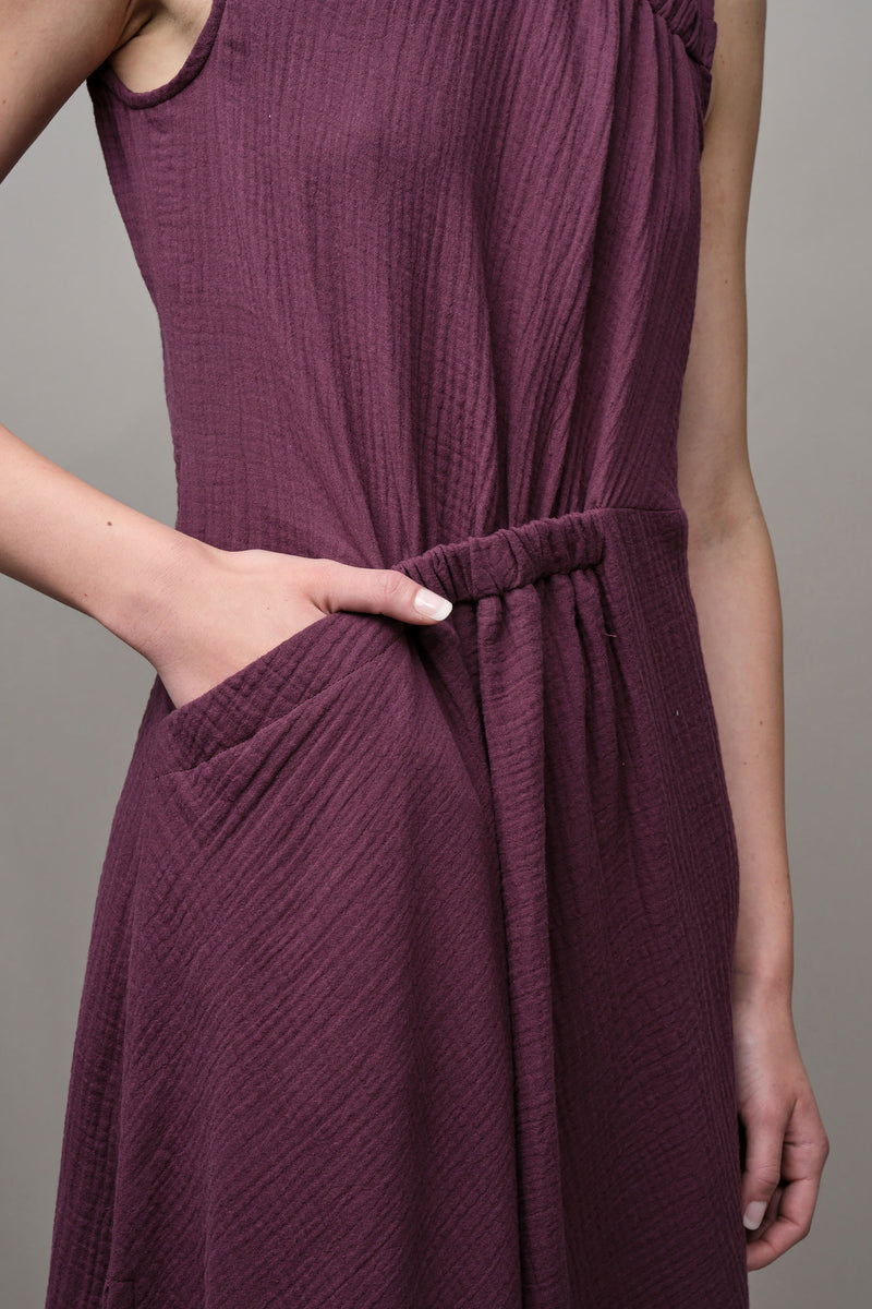 purple Slice Dress