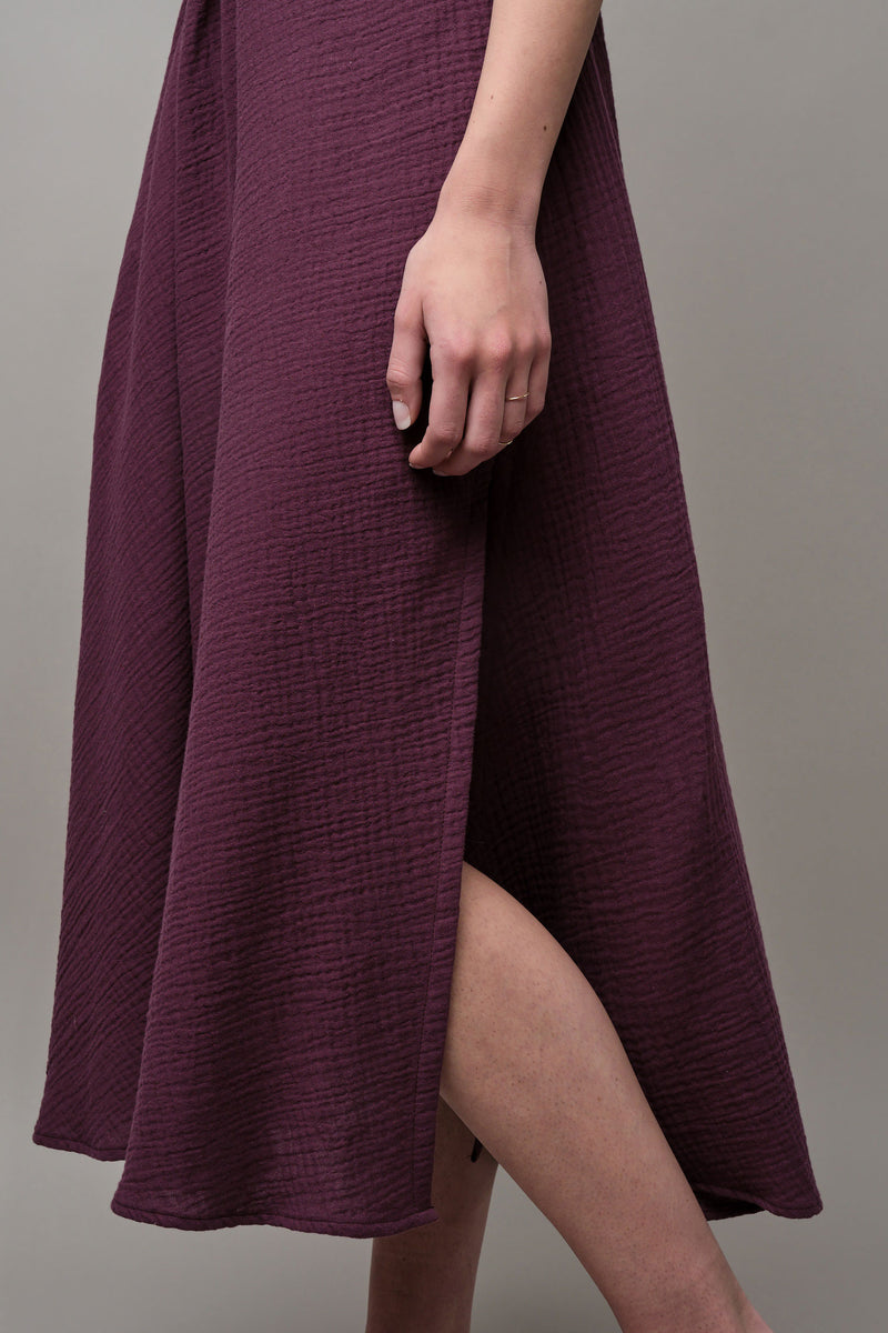 rachel comey midi dress with slit