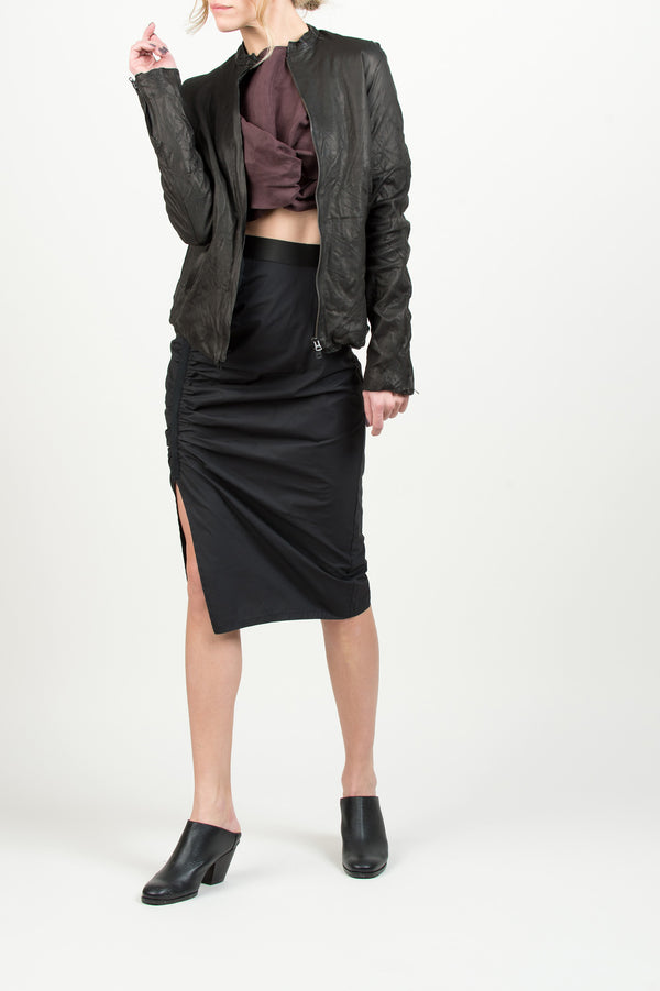 Sisii Women's Leather Jacket