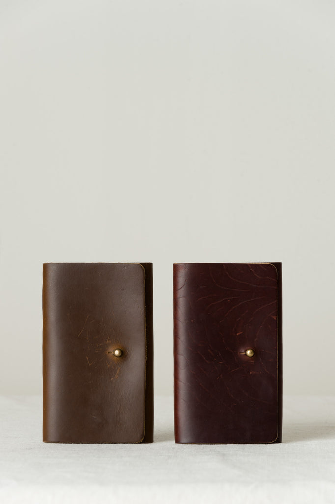 tres cuervos leatherworks notebook cover