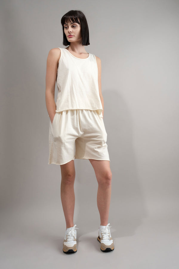 Wol Hide EAsy Shorts in Natural