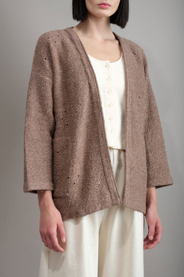 Loose Cardigan Wol Hide
