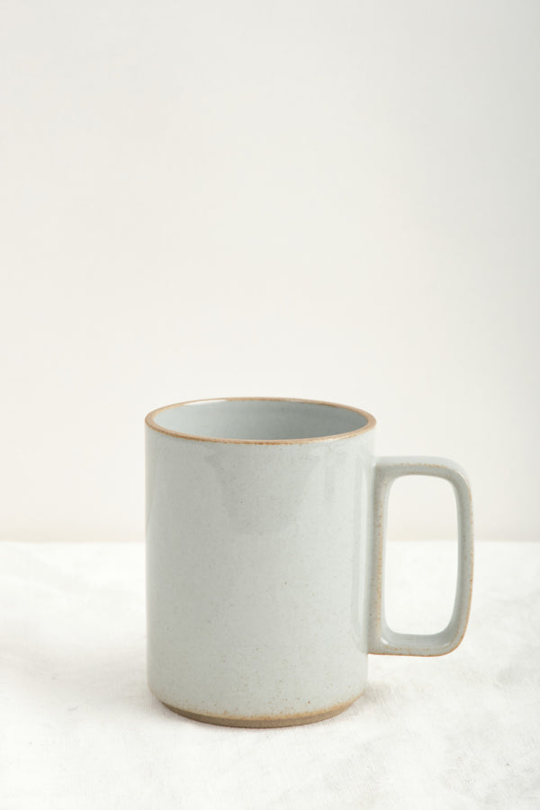 Hasami Porcelain 15oz Mug Gloss Gray