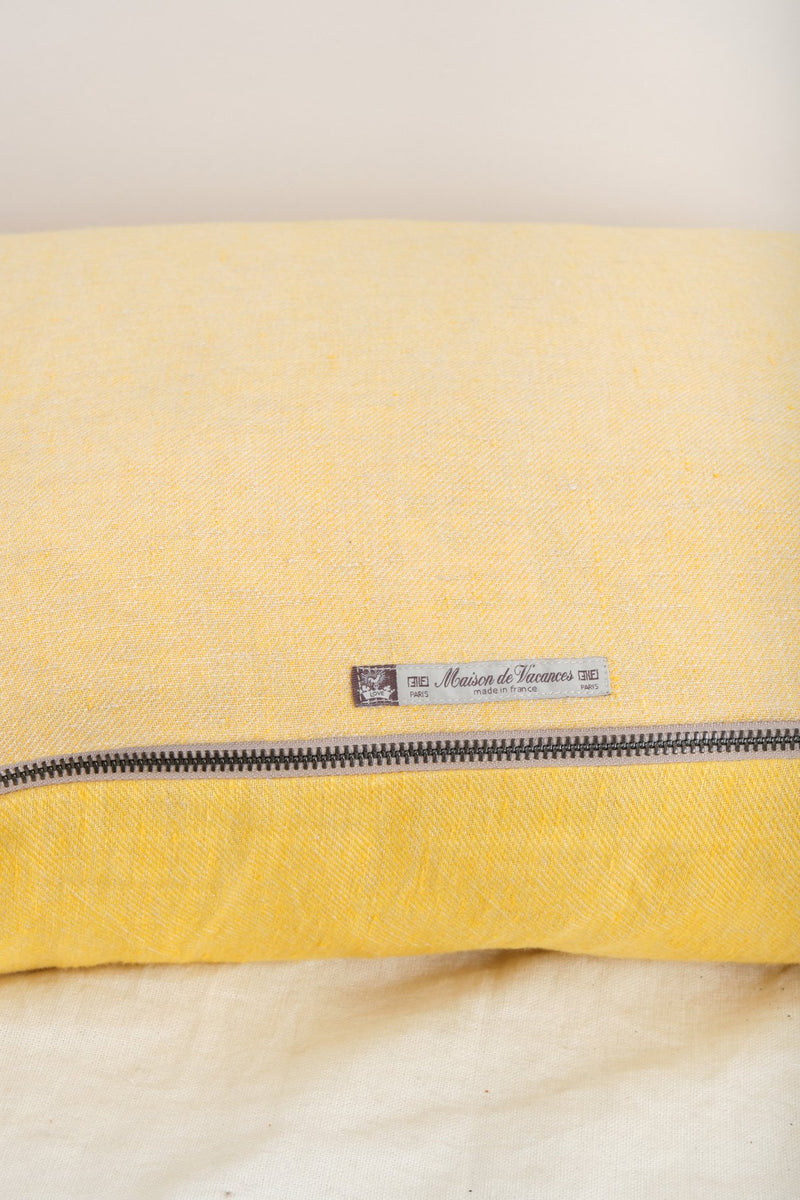 Maison de Vacances Washed Linen Pillow