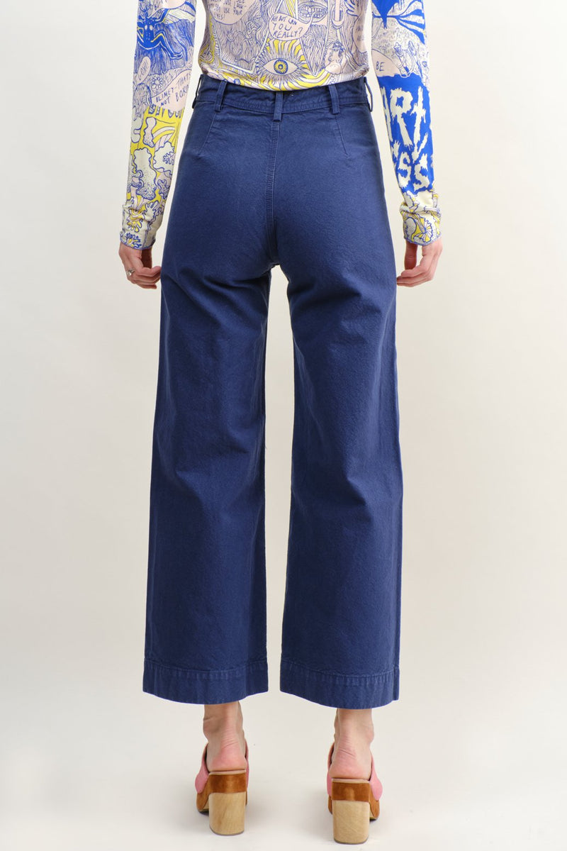Jesse Kamm Sailor Pant Cotton Canvas
