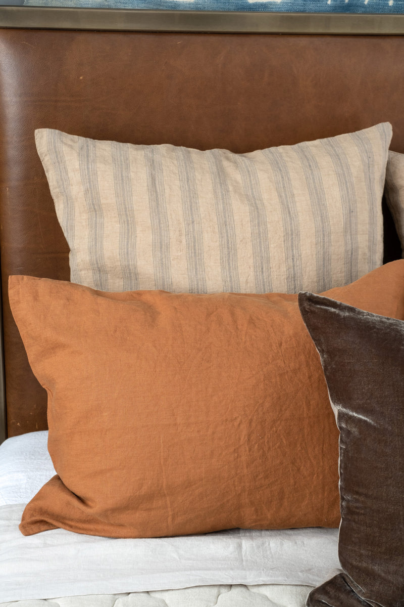 Hale Mercantile Euro Basix Stripe Pillowcase