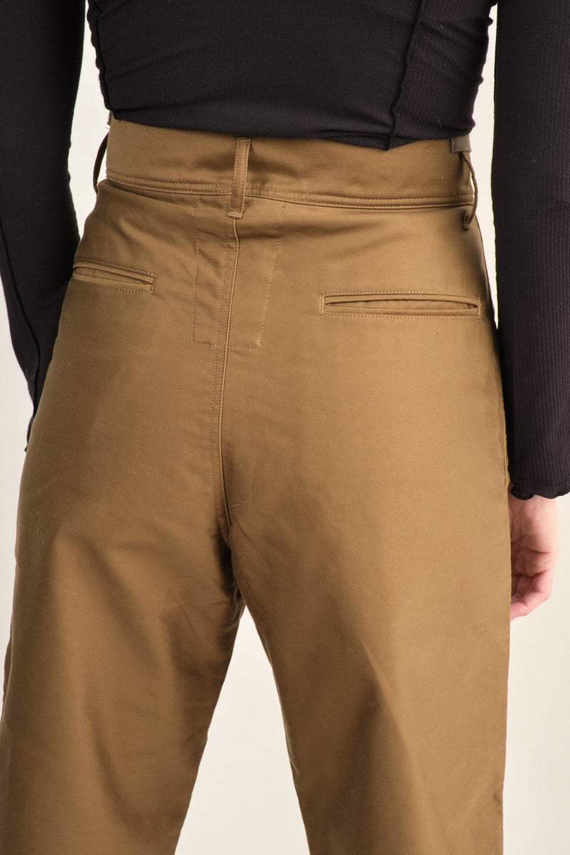 Chimala Green Moleskin Farmar's Work Pants