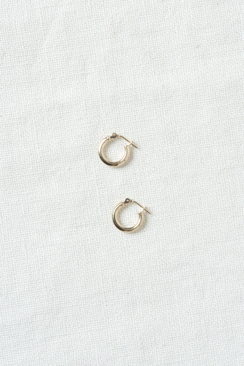 Loren Stewart Mini Chubbie Huggies Hoop Earrings