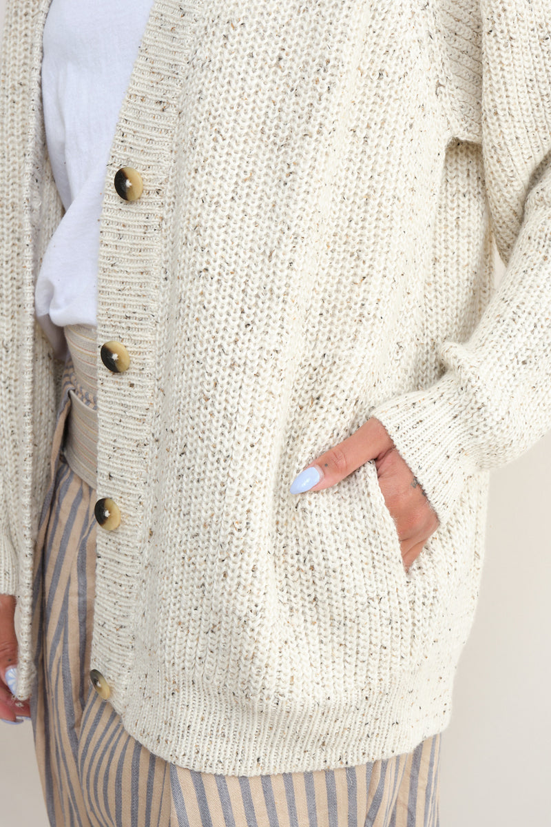 lauren manoogian cardigan sweater