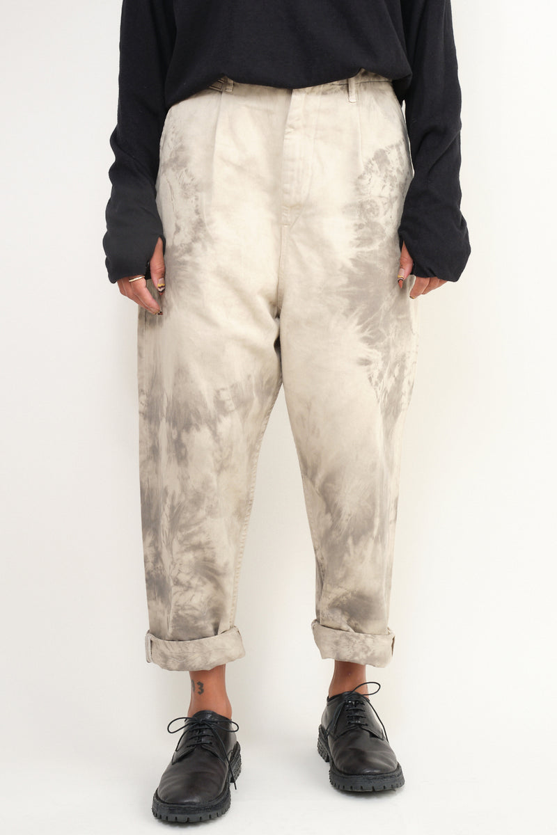 kapital KATSURAGI High Waisted NIME Pants (Ashbury Dyed)