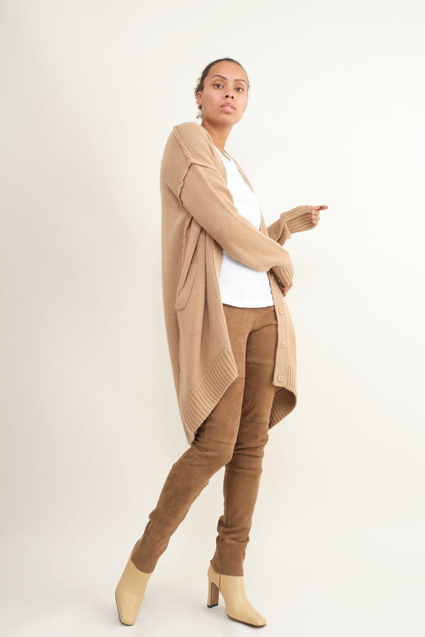 Kristensen du Nord suede leather leggings