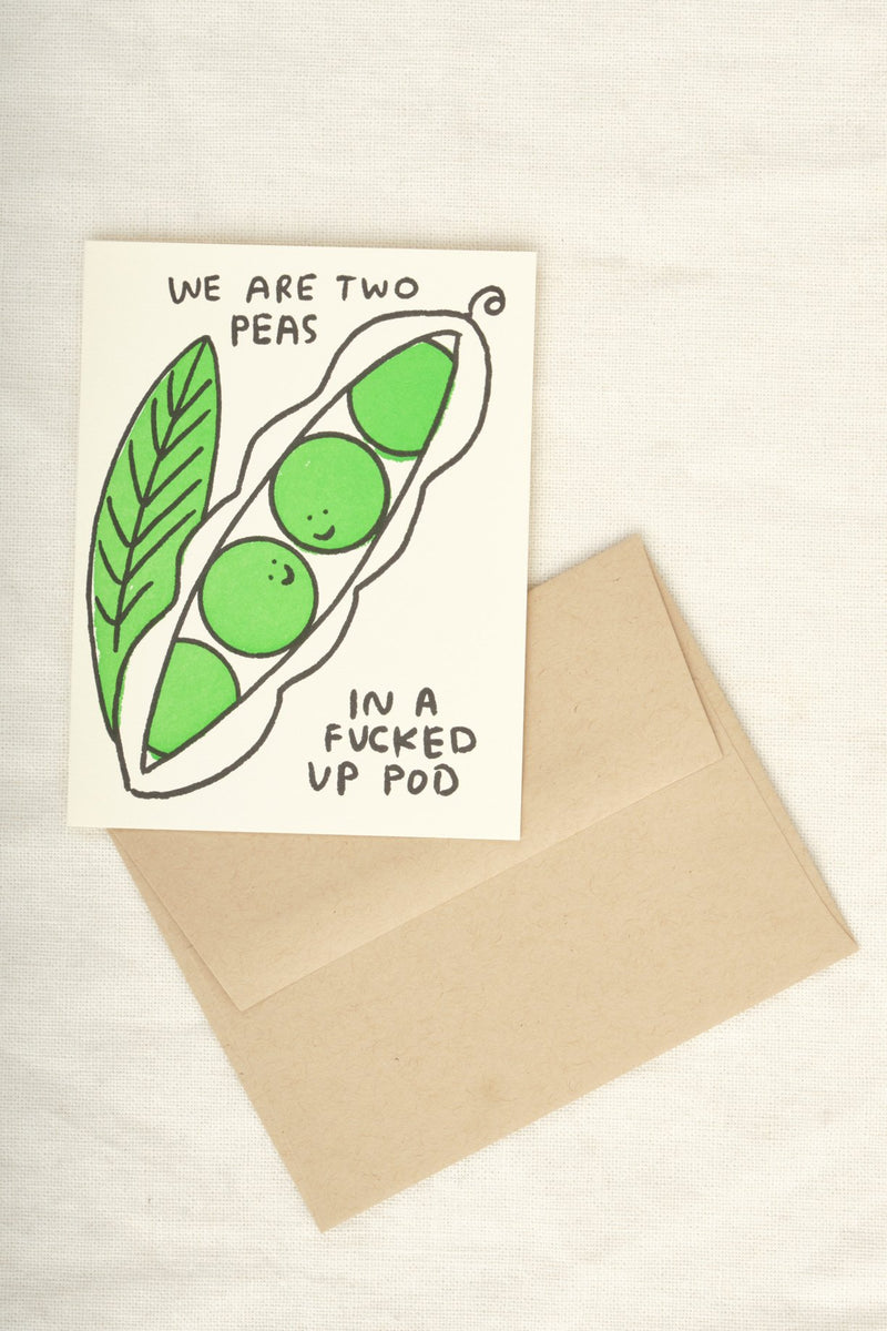 People Ive Loved Two Peas Card