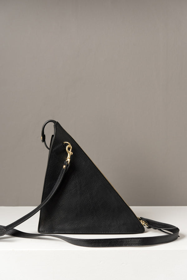 Lotuff Triangle Bag In Black