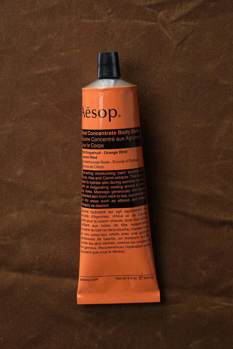 aesop body balm travel size