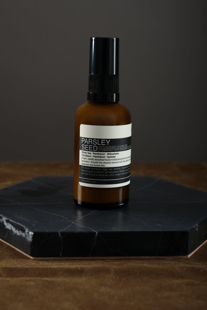 Aesop parsley seed anit-oxidant hydrator