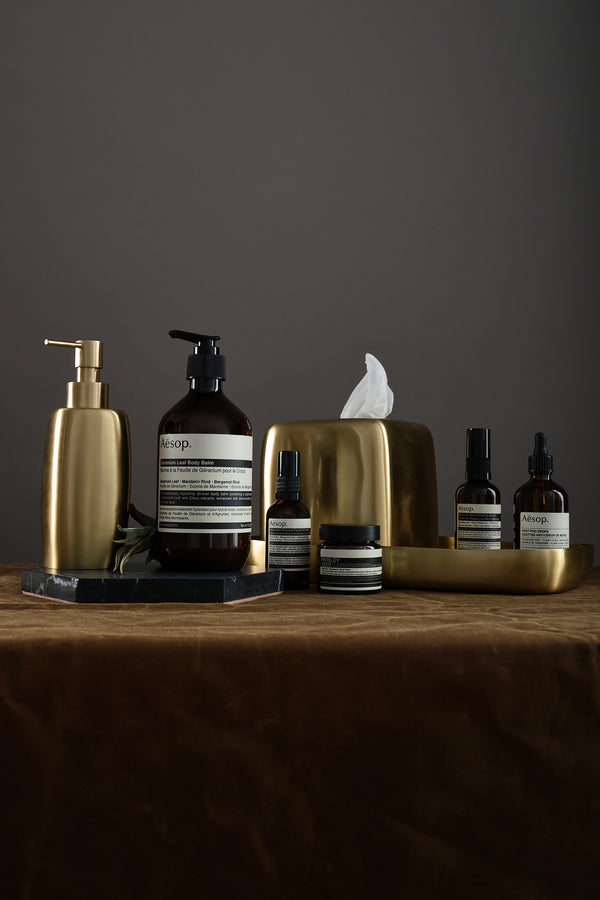 aesop grooming and bathroom products