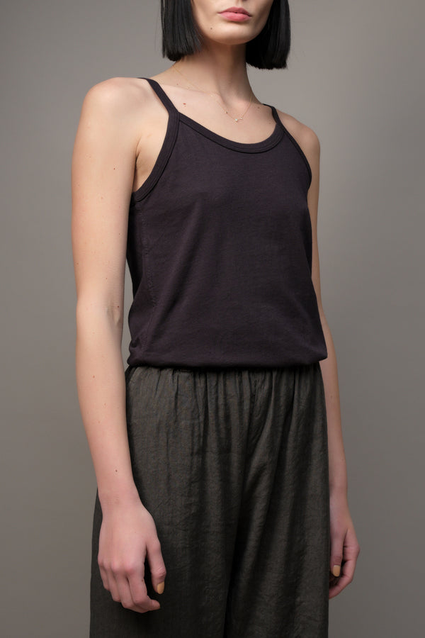 70s vintage tank in black Amo Denim
