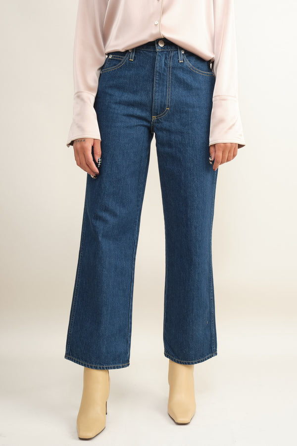indie blue sophie crop Amo Denim