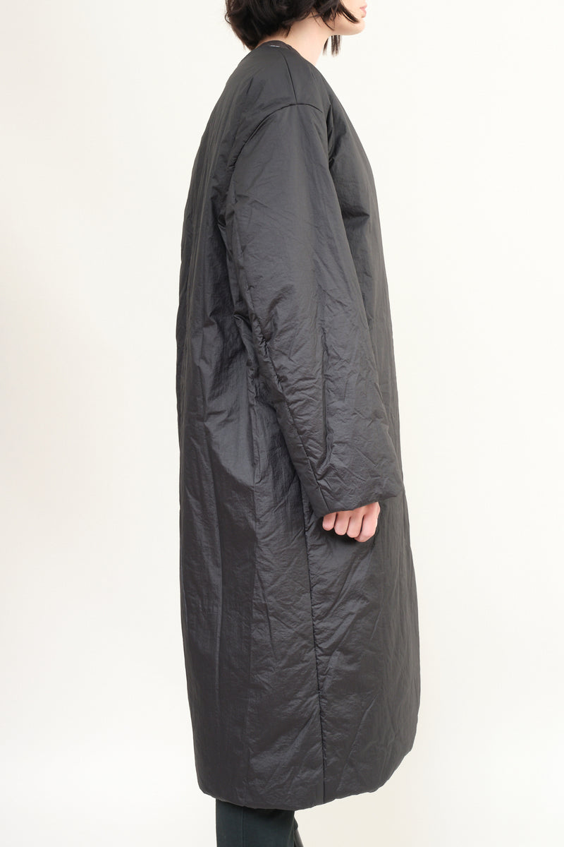 Amomento black puffer coat