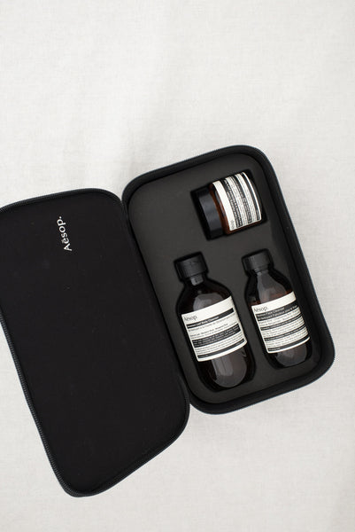 Aesop regard essential skin and body kit