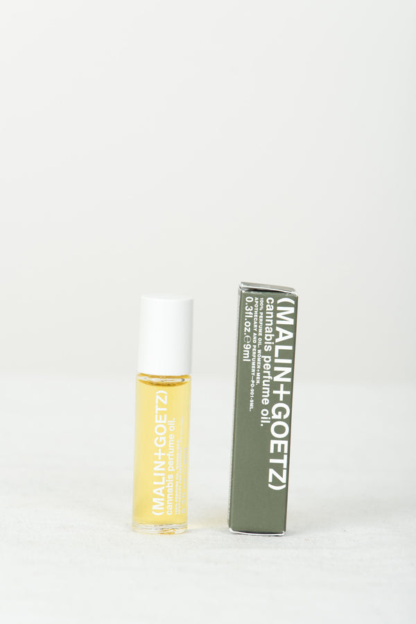 malin + goetz cannabis perfume oil