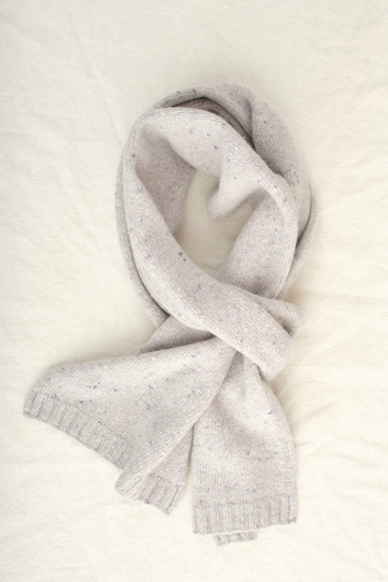 A Kind of Guise Risoni Scarf Snow Melange