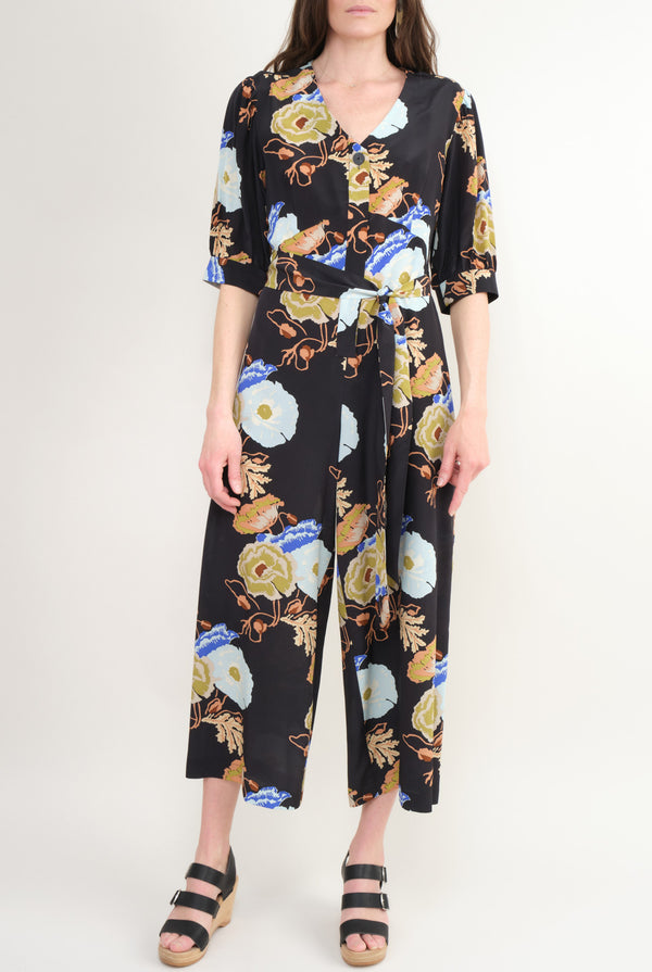 No. 6 Clothing Francesca Jumpsuit Silk