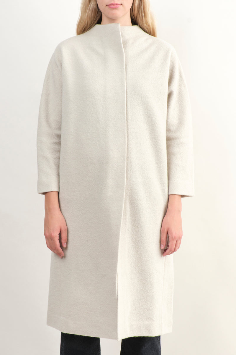 Evam Eva Press Long Wool Coat