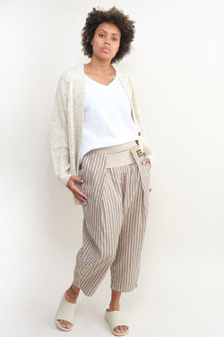 kapital linen blues hickoree shimokita pants