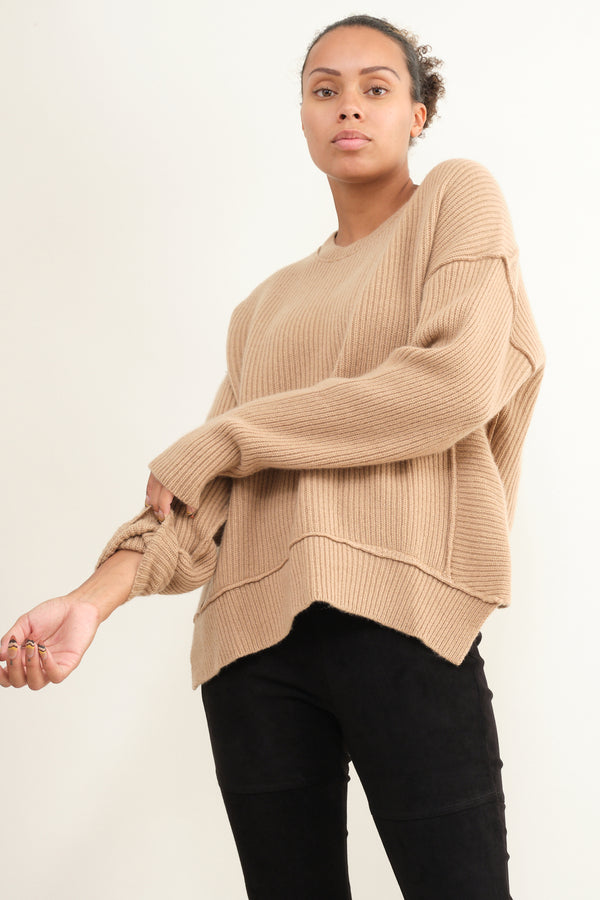 Kristensen du Nord thick ribbed cashmere sweaters
