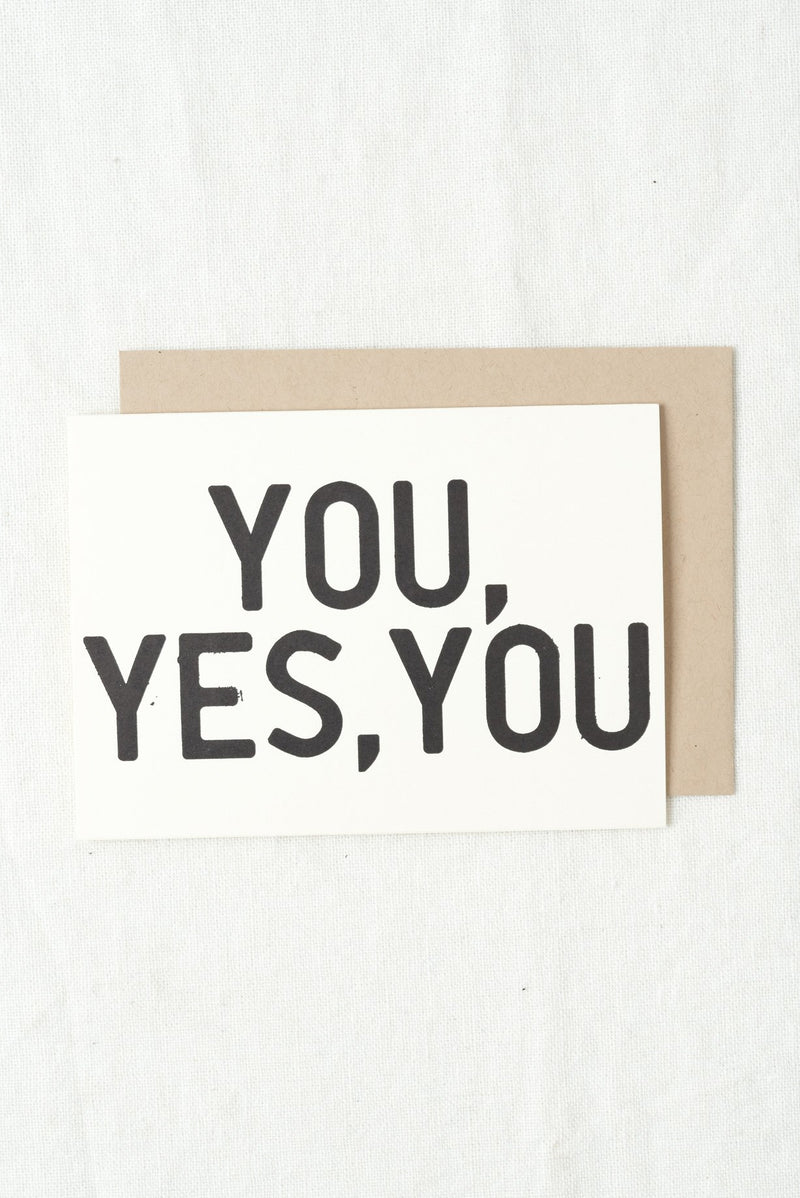 People I've Loved You, Yes You Card