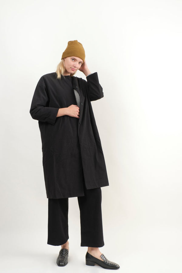 Evam Eva Padding Dolman Long Coat