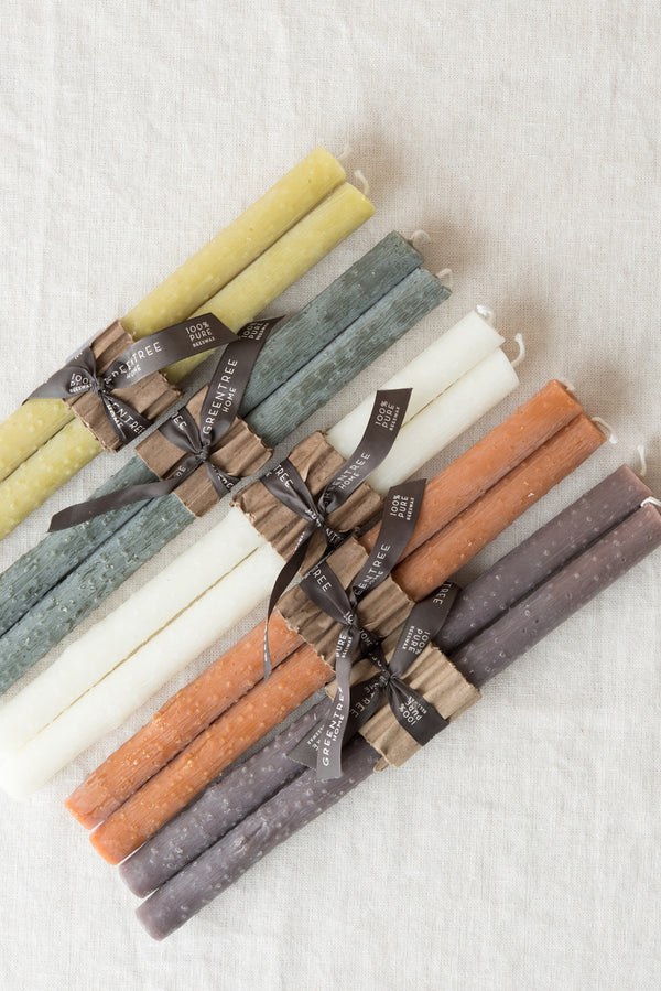 Greentree Home Twig Taper Candles