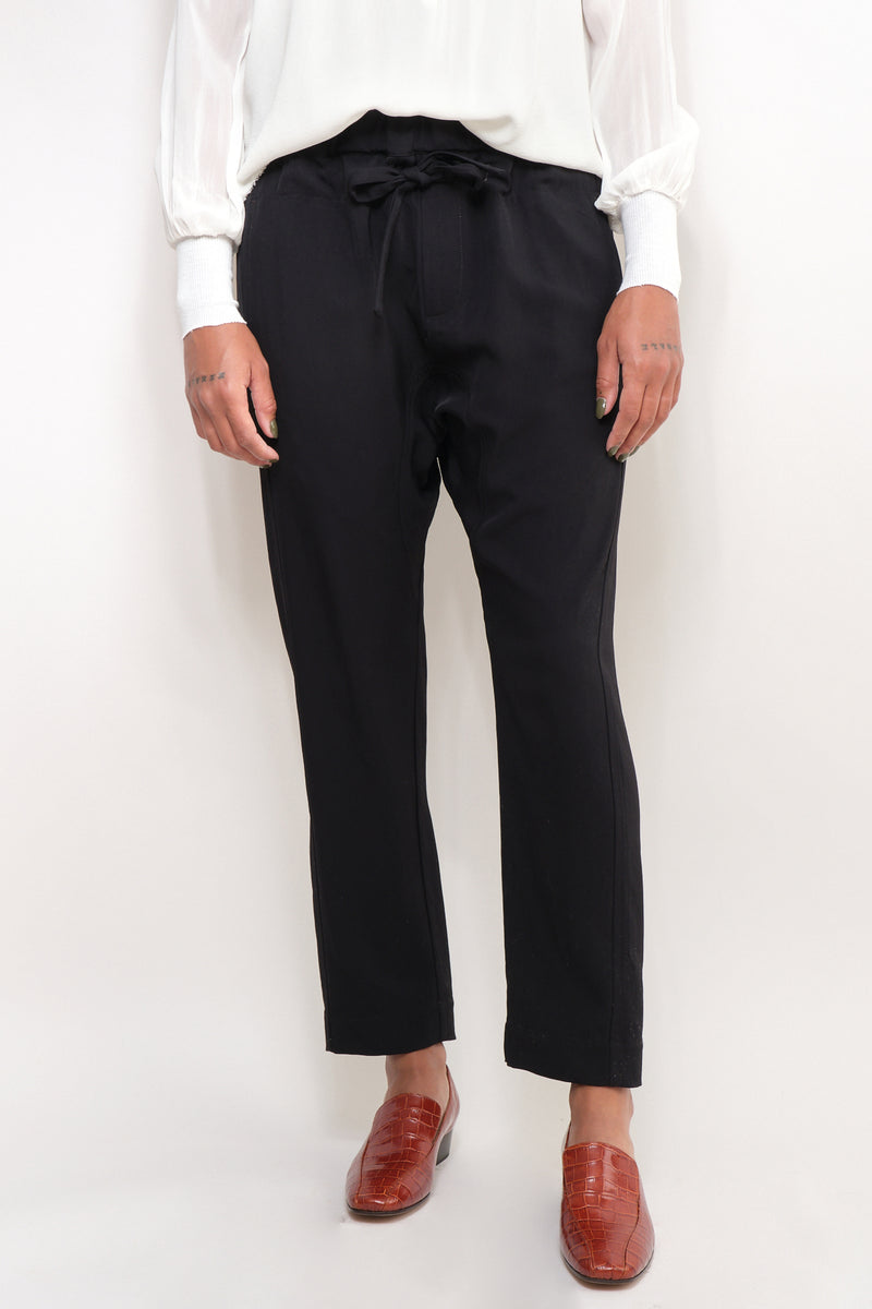Triacetate Relaxed Pant bassike