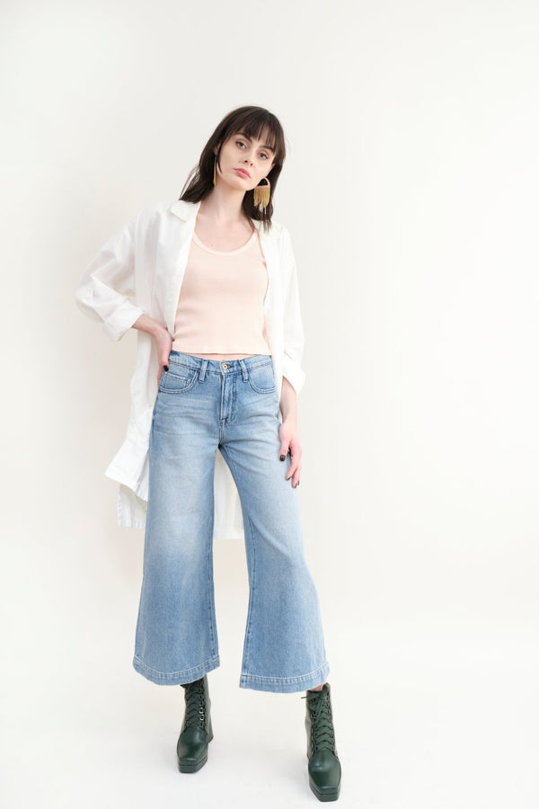 NSF Clothing Katia Wide Leg Jean