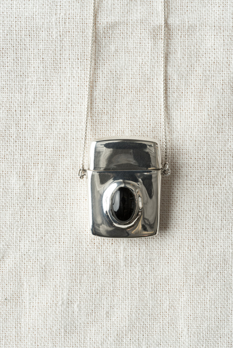 Matchbank Pendant In Sterling Silver