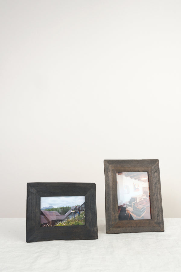 reclaimed wood frame be home