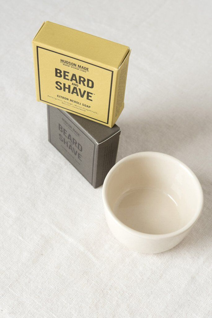 beard shave citron and cup set