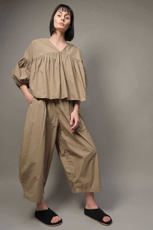 Black Crane wide pants